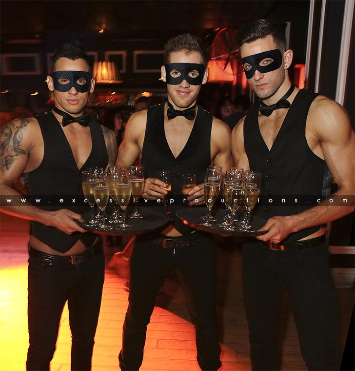 Masquerade Waiters
