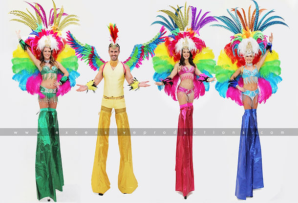 Rio_Carnival_Roving_Stiltwalkers_Girls_b