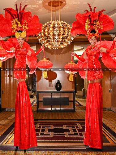 Red Lantern China Dolls