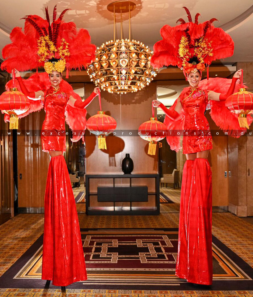 Red Lantern China Dolls