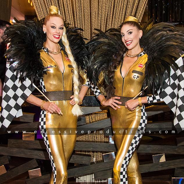 Showgirl Grid Girls