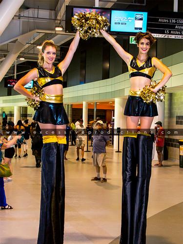Black & Gold Cheerleaders