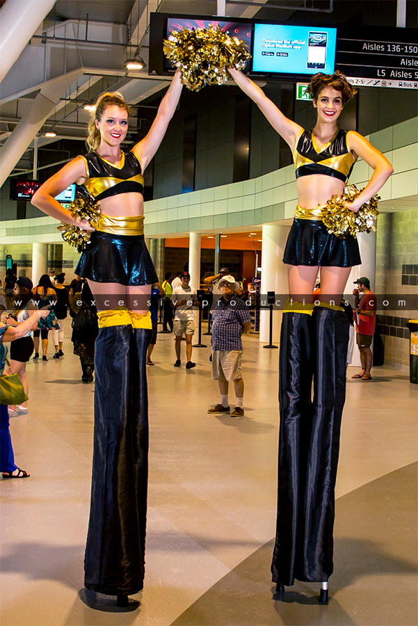 Black & Gold Cheerleaders