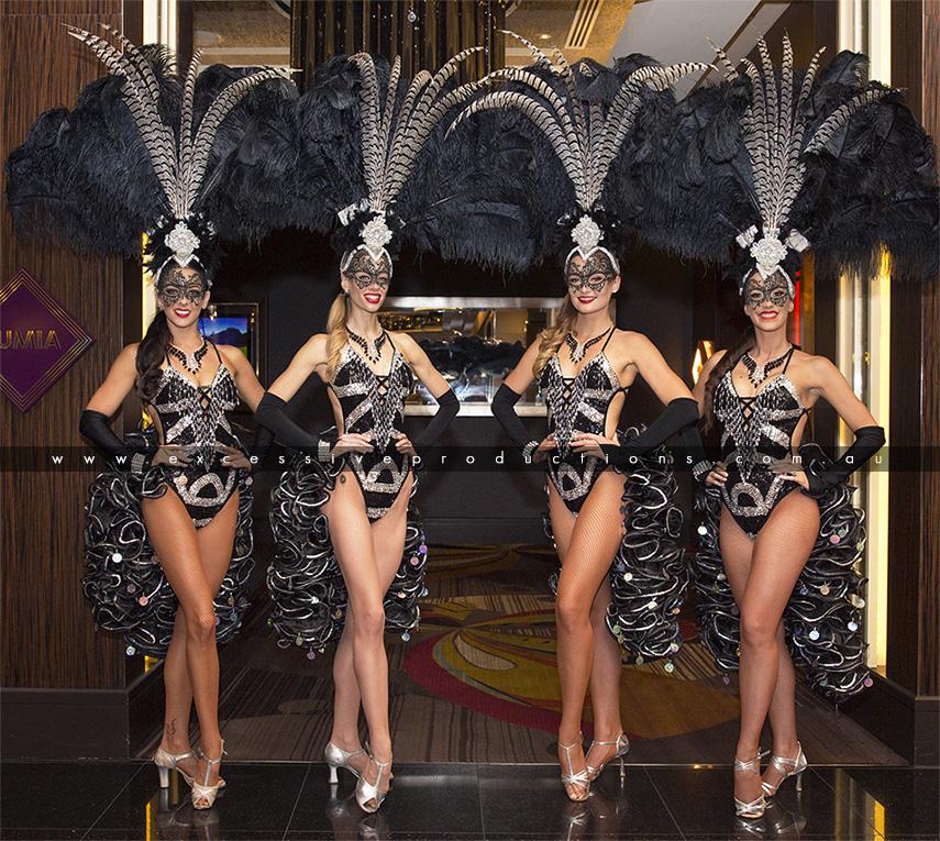 Blk & Silver Masquerade