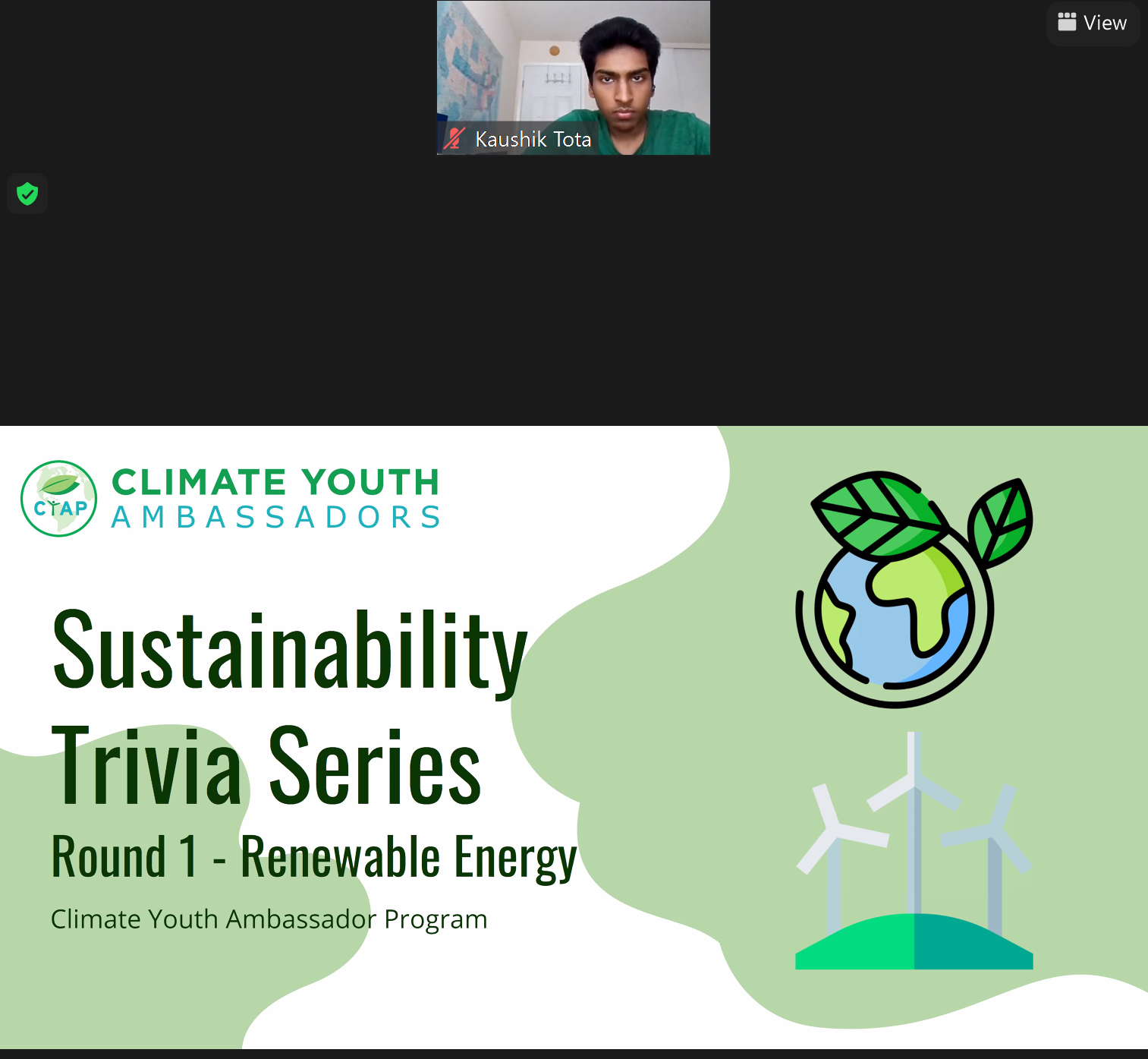 Sustainability Trivia Series Round 1