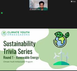 Sustainability Trivia Series Round 1