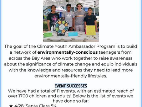 Climate Youth Ambassadors September Newsletter