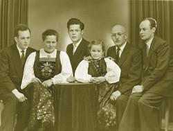 Ambros Strolz mit Familie