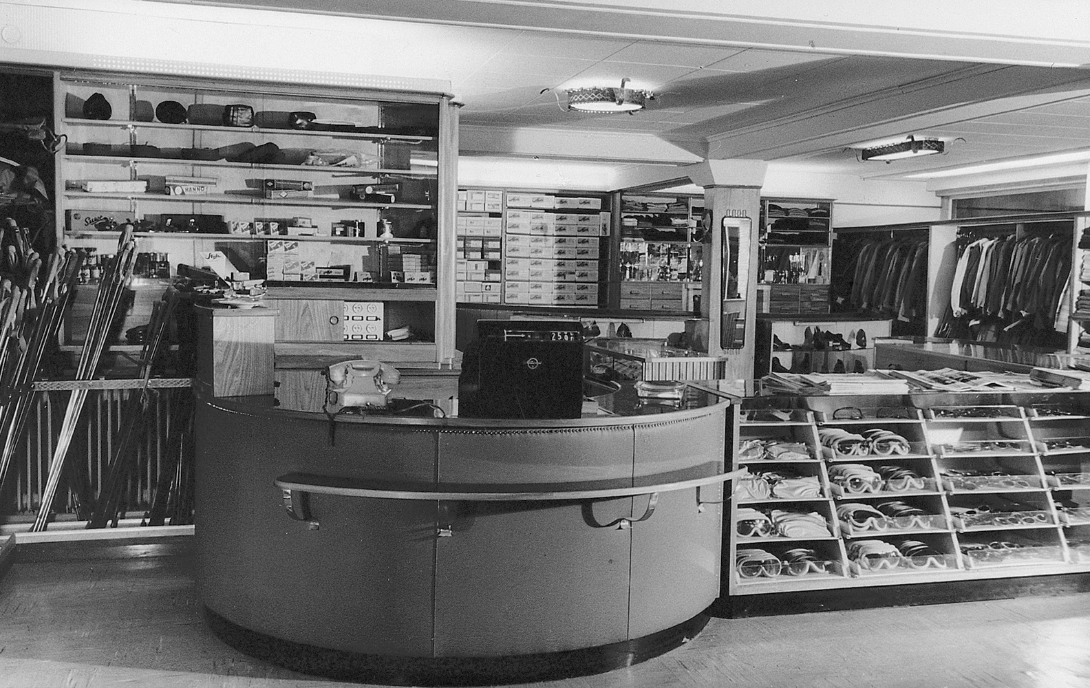 Strolz shop in the old days