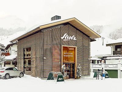 Strolz Rent a Ski im Zentrum von Lech