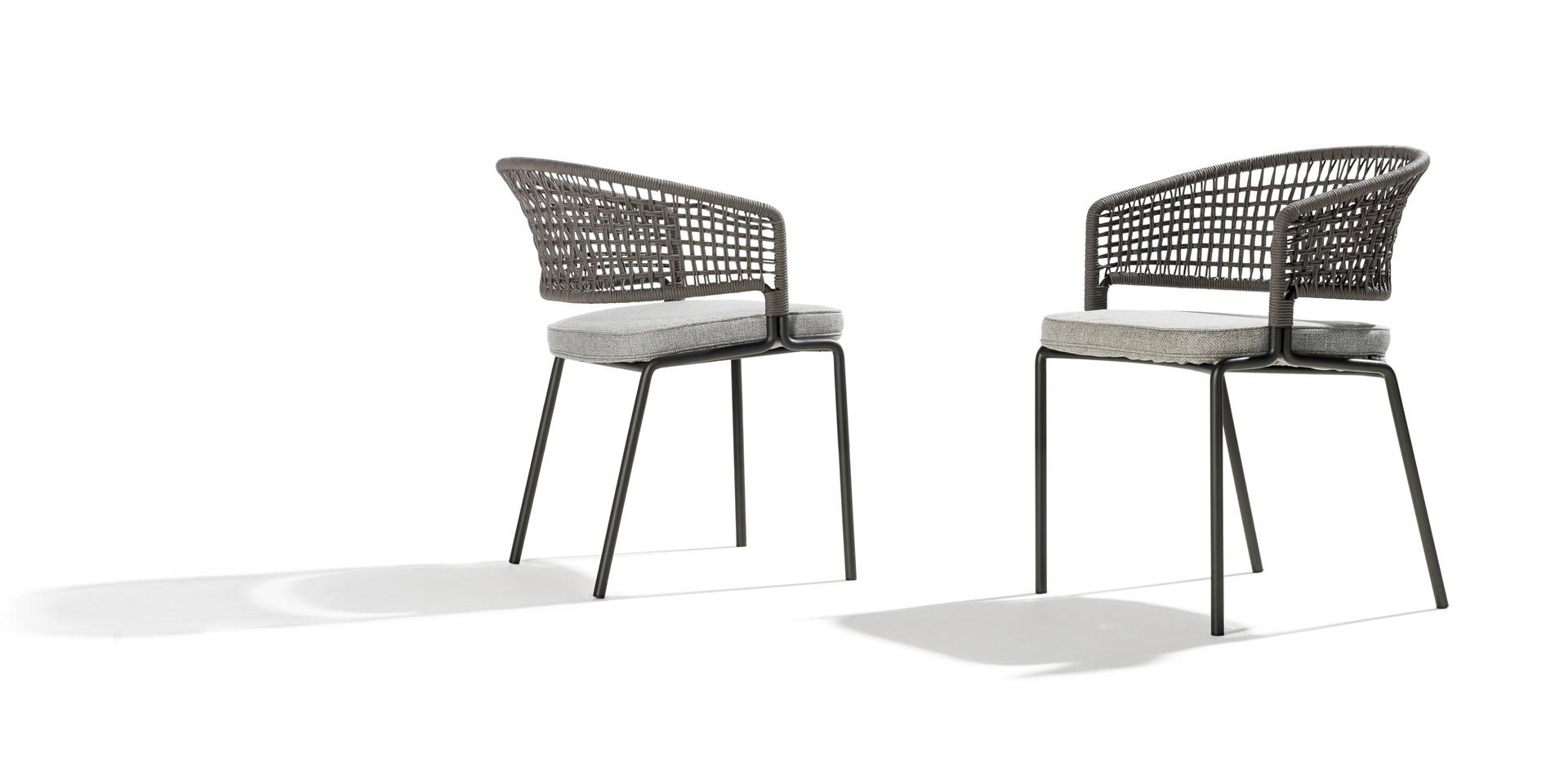TRIBU CTR-Contour armchair shade