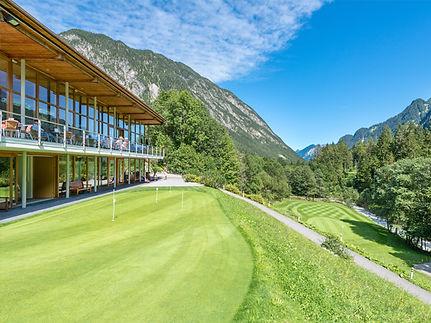Clubhaus Golfclub Brand im Brandnertal