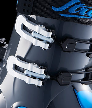 Strolz skiboots Evolution aluminium buckle system