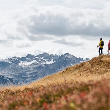Die Berge geniessen mit Strolz