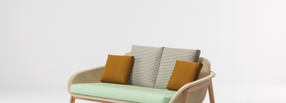 Kettal Vimini 2 seater sofa