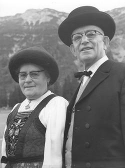 Ambros Strolz mit Frau