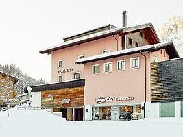Strolz cross country ski center Lech Filomena