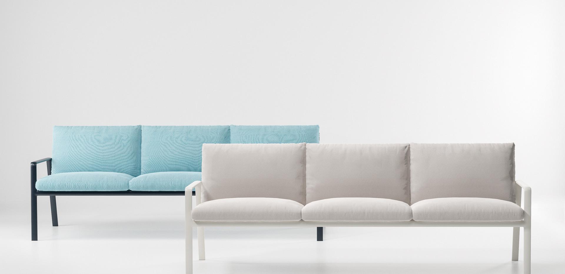 Kettal Park Life 3 seater sofa