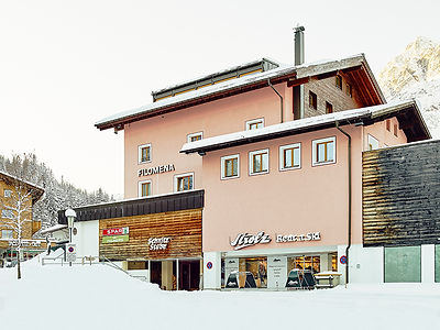 Strolz Cross Country Center in Lech