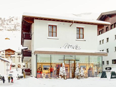 Strolz Sport- und Modehaus in Zürs