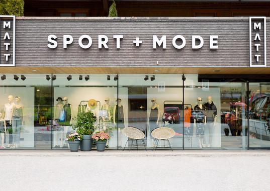 MATT Sport und Mode - Schaufenster