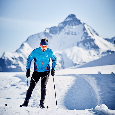 Strolz cross country skiing