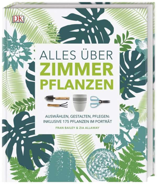 Cover: Alles über Zimmerpflanzen