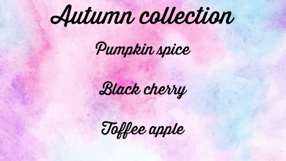 Autumn snap bar collection