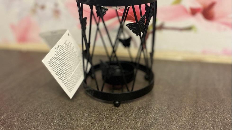 Butterfly lattice style tea light burner