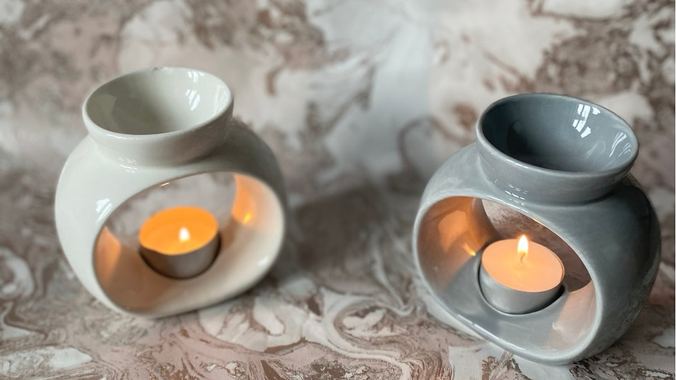 Modern tea light burner