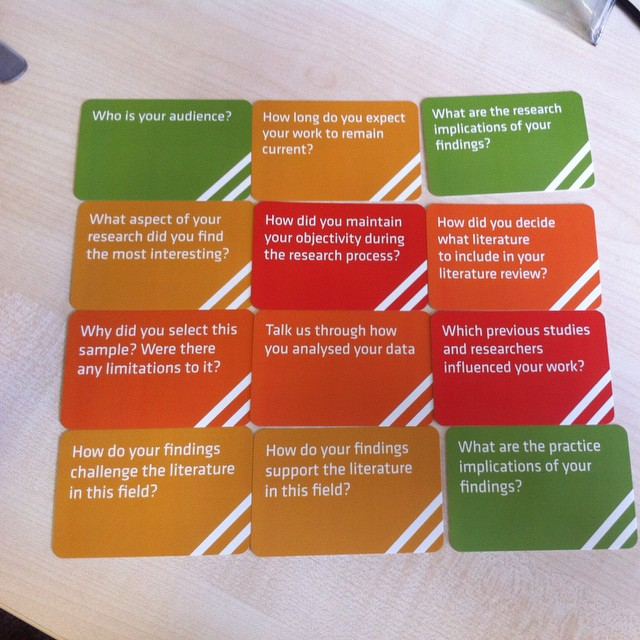The viva cards - getting ready