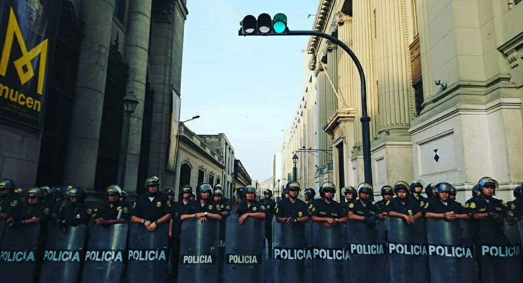 Denisse Rodriguez Olivari Lima Protest