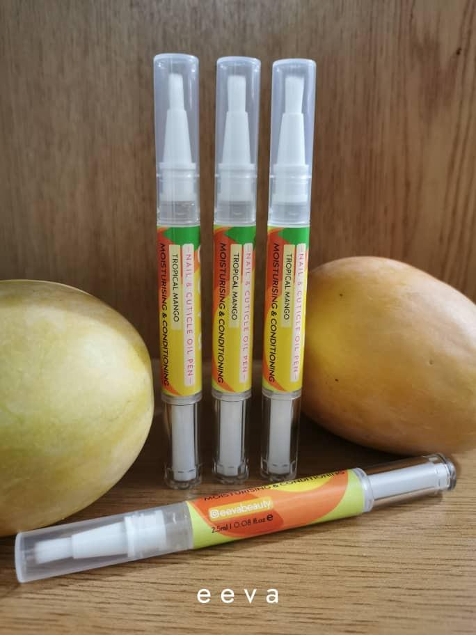 Eeva nail and cuticle oil pen in Tropical Mango