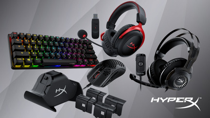 HyperX Reveals All-New PC and Console Gaming Gear at CES 2021
