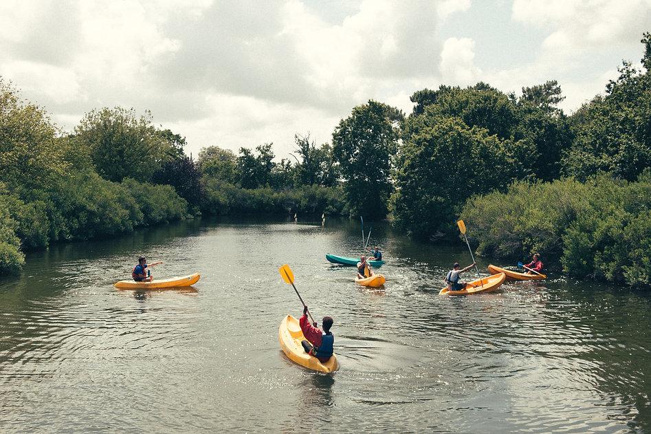 I want to go Kayaking