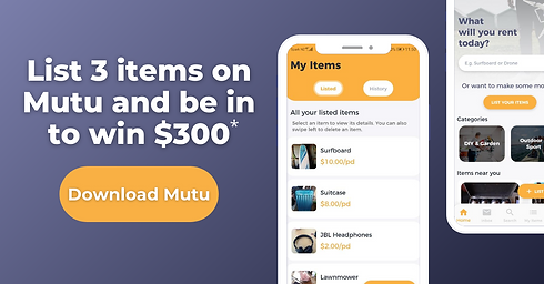 List 3 items on Mutu and be in to win $300.