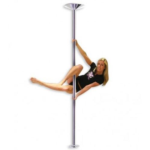 Barra Pole Dance, Caño Profesional Ajustable Giratorio a Fijo.