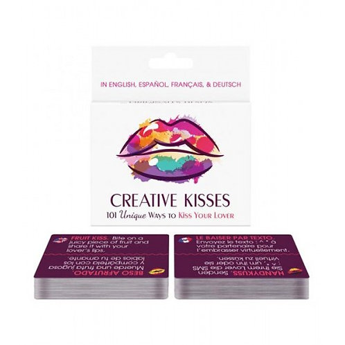 Creative Kisses- Juego De Cartas