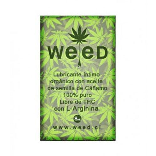 Sachet Lubricante Intimo Weed 8 Ml