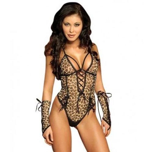 Body Leopardo Sensual