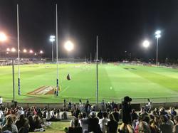 Whitten Oval temporary sports lighting W