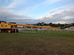 FFA Cup Adelaide setup of tower