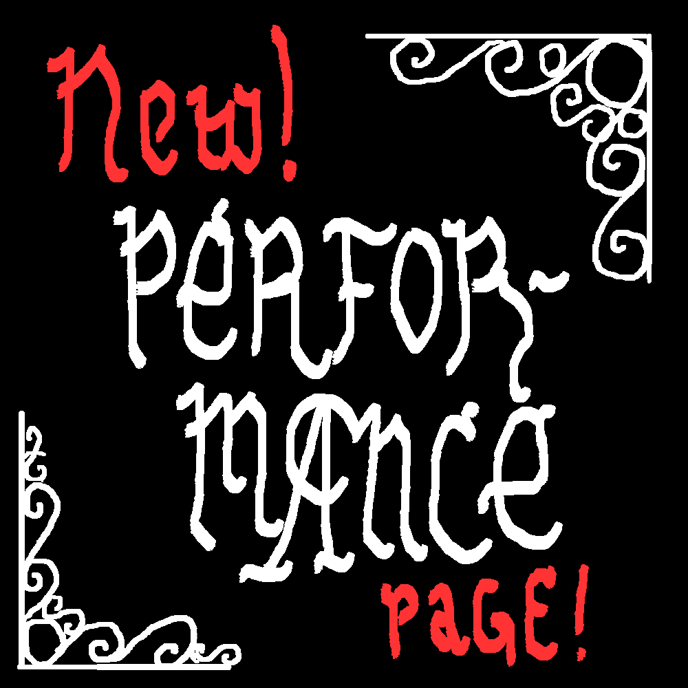 New! Performance pages.