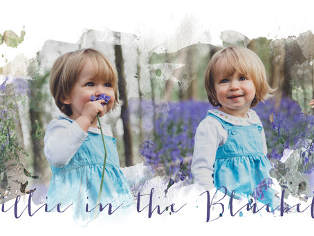 Millie in the Bluebells - Wendover Woods Family Photography by Poppy Carter Portraits- Aylesbury