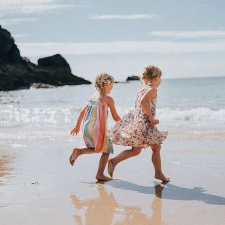 Our Covid Staycation in Padstow, Cornwall! Family Photography - Poppy Carter Portraits