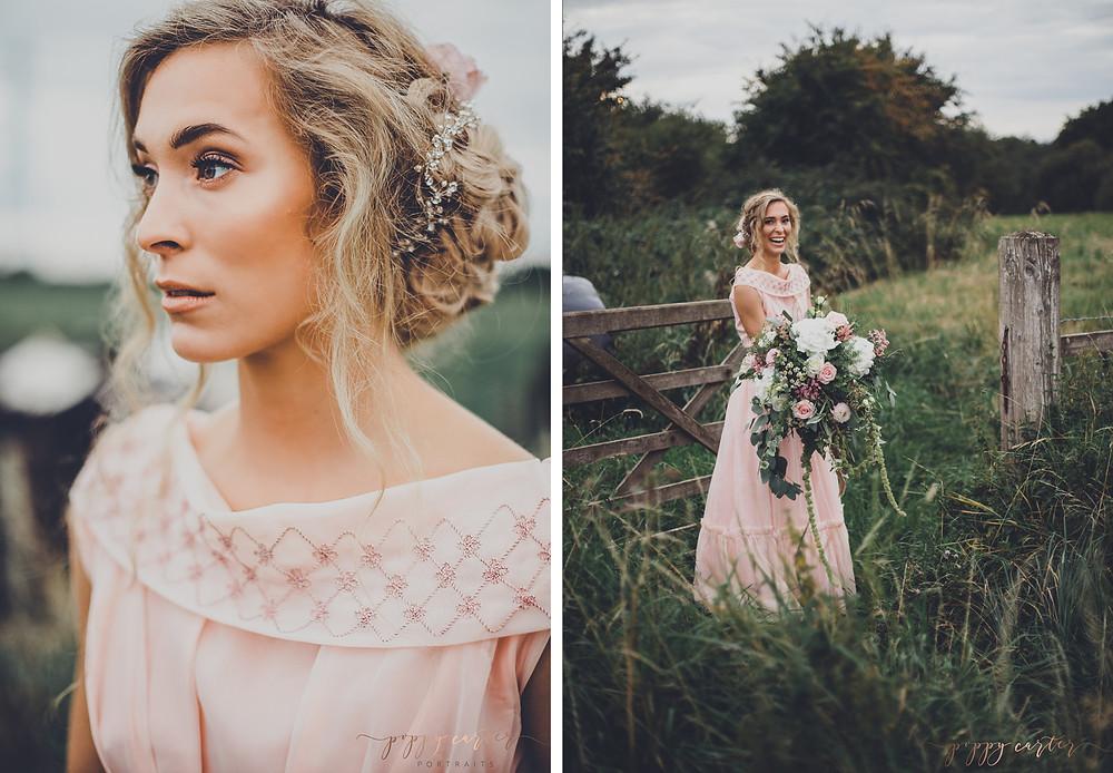 Poppy Carter Portraits Alternative Wedding Photography Buckinghamshire Aylesbury Bicester Oxford Cotswolds - Jodie Steele Actress