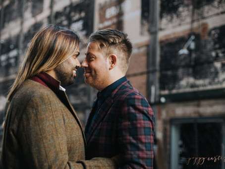 Jonny + Ray - London Engagement Photography - Poppy Carter Portraits Wedding Photography