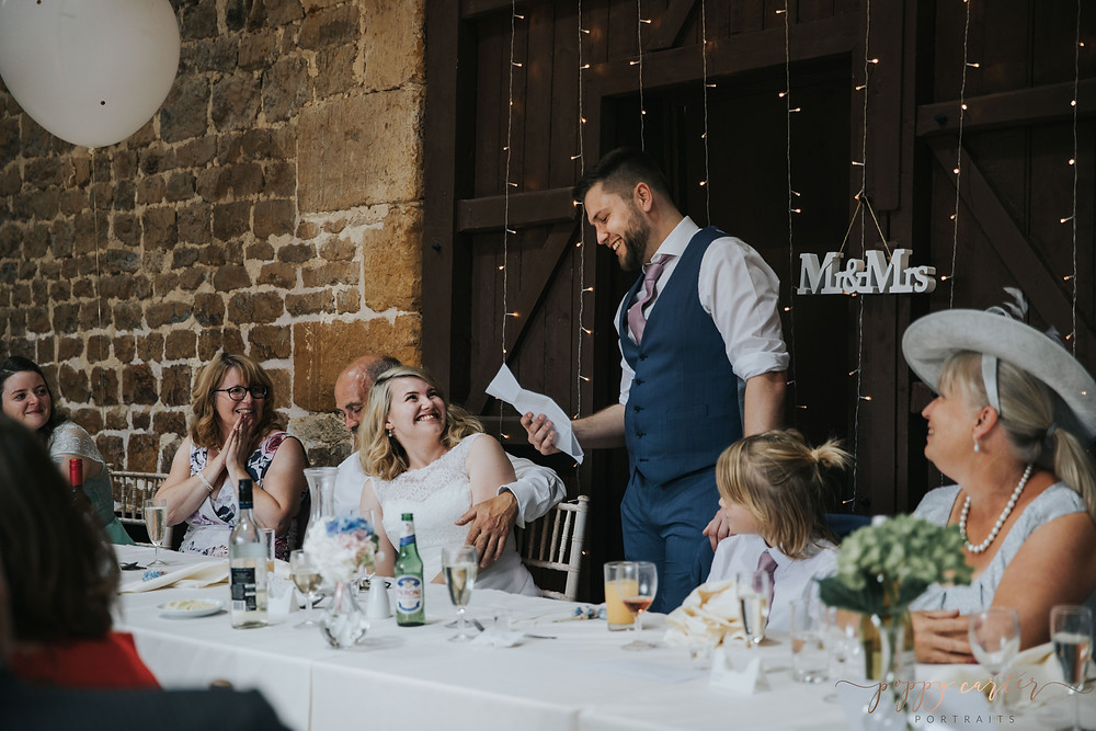The Barns at Hunsbury Hill Wedding Photographer - Poppy Carter Portraits