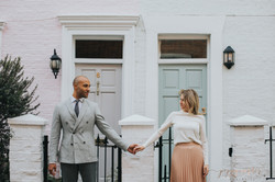 London Engagement Portraits