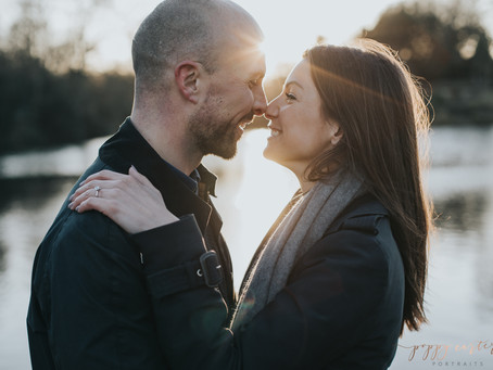 Poppy + Ben - Battersea Park Engagement Photography - Poppy Carter Portraits - Wedding Photography